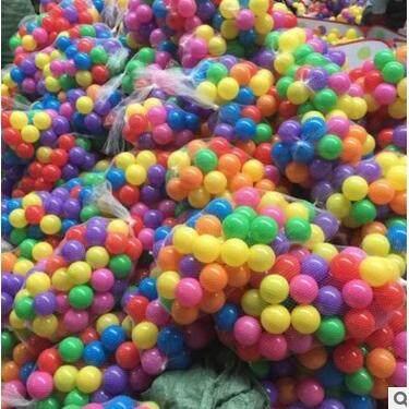 Feeding & Nursing - 100pcs/SetColorful Funny Soft Plastic Ocean Ball Set Baby Kids Playing Tool - [(4CM) / 5.5CM)]