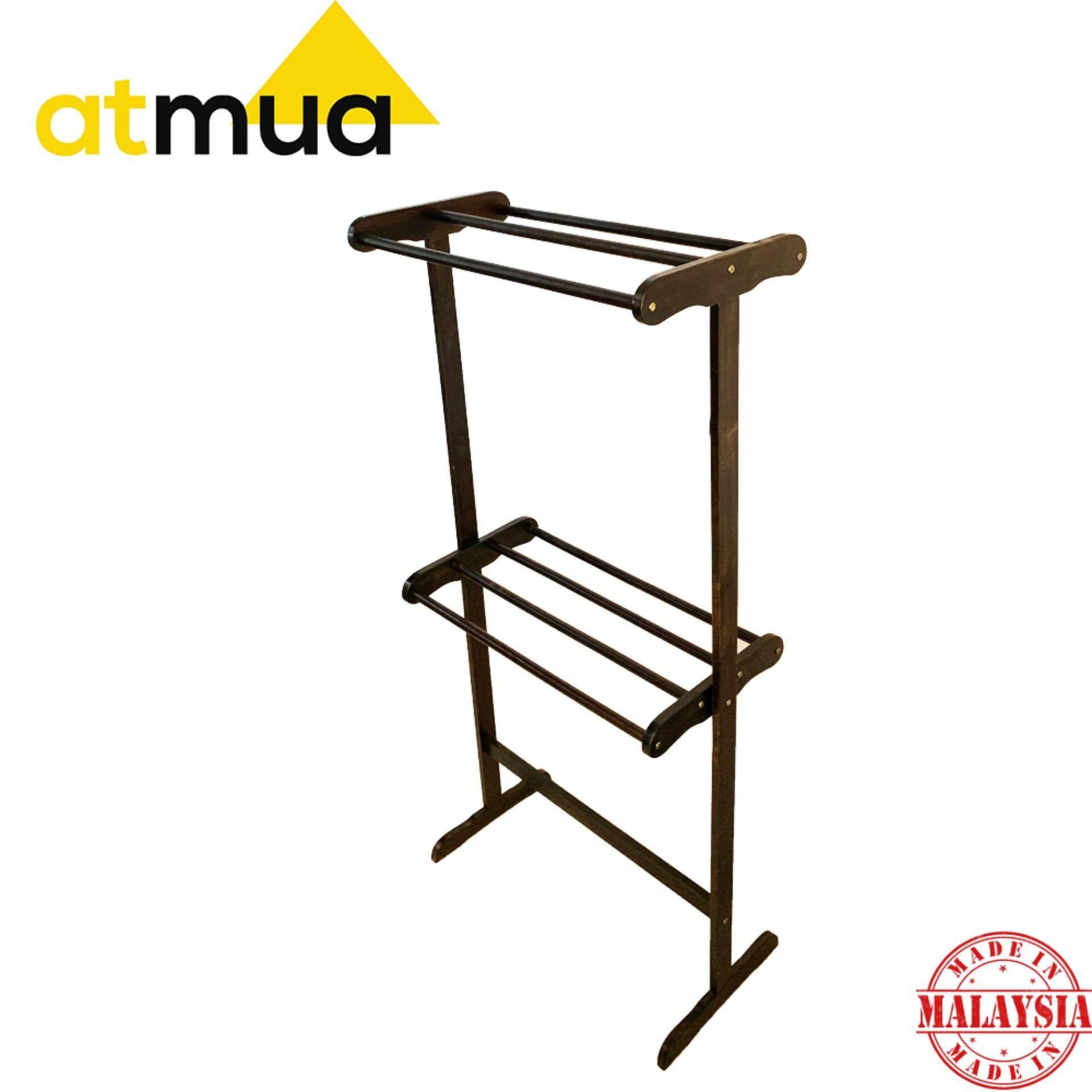 Atmua Habi Big Towel Rack - [Full Solid Wood]