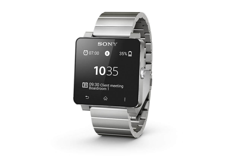 Sony Smartwatch 2 SW2 Metal Band (Silver)
