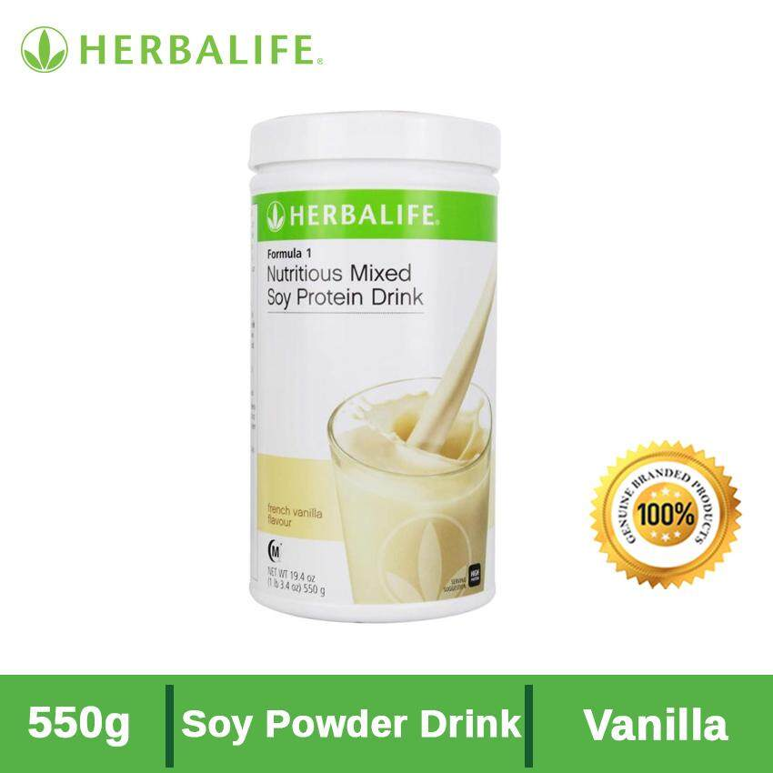 Herbalife Start Now Pack F1 (French Vanilla)  + F3 Protein + Tea Mix ( Peach ) [FOC Spoon]