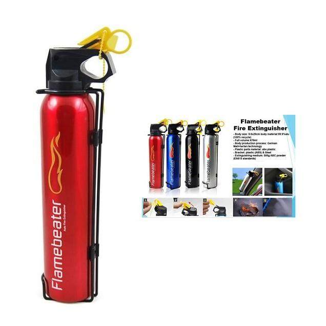 Fire Safety - Firebeater Portable Fire Extinguisher (0.5kg) - [BLUE / SILVER / BLACK]