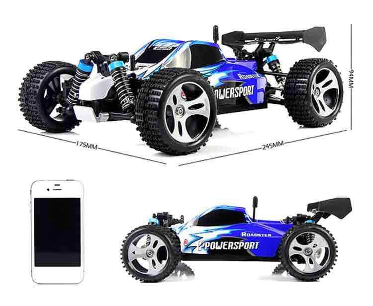 New Upgraded Wltoys A959-B RC Speedcar 70km/h + 85km/h Remote Control RC Speedcar Racing High Speed Car Shockproof Off-Road Gift Toys for boys