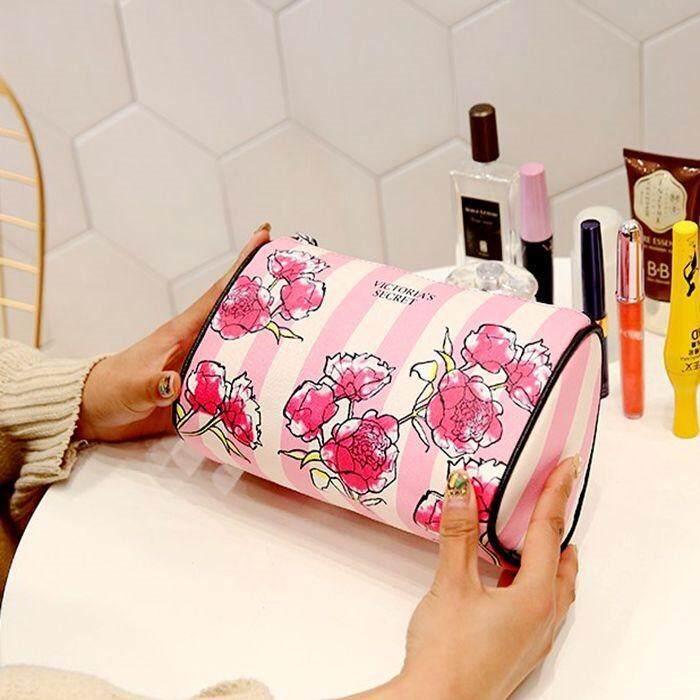 VS Victoria's Secret Flower Train case & Pouches