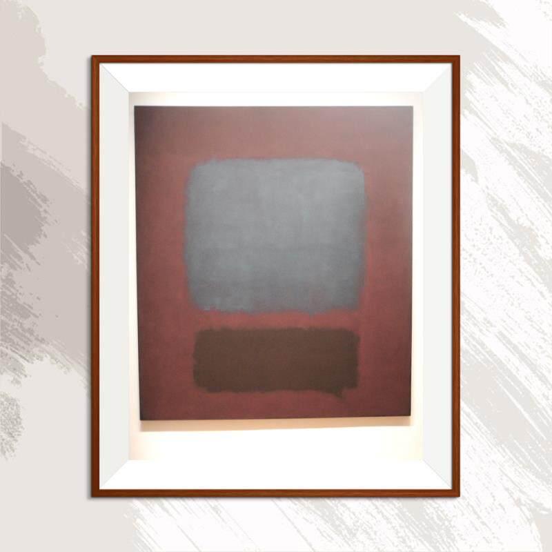Tranh Sơn Dầu Trừu Tượng Mark Rothko, Tranh In Sơn Dầu Không Khung Hình Ba Chiều Trang Trí Nhà Cửa Phòng Khách Nghệ Thuật Vẽ Không Khung