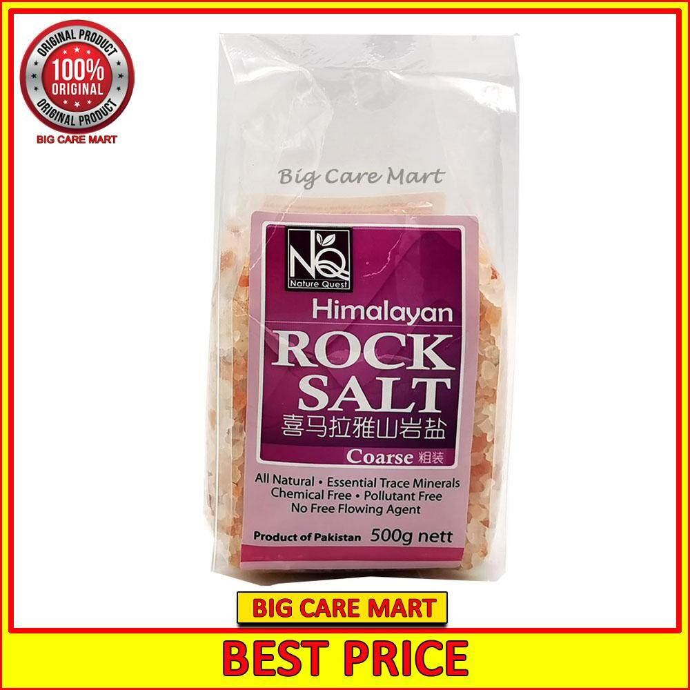 Nature Quest Himalayan Rock Salt Coarse 500g