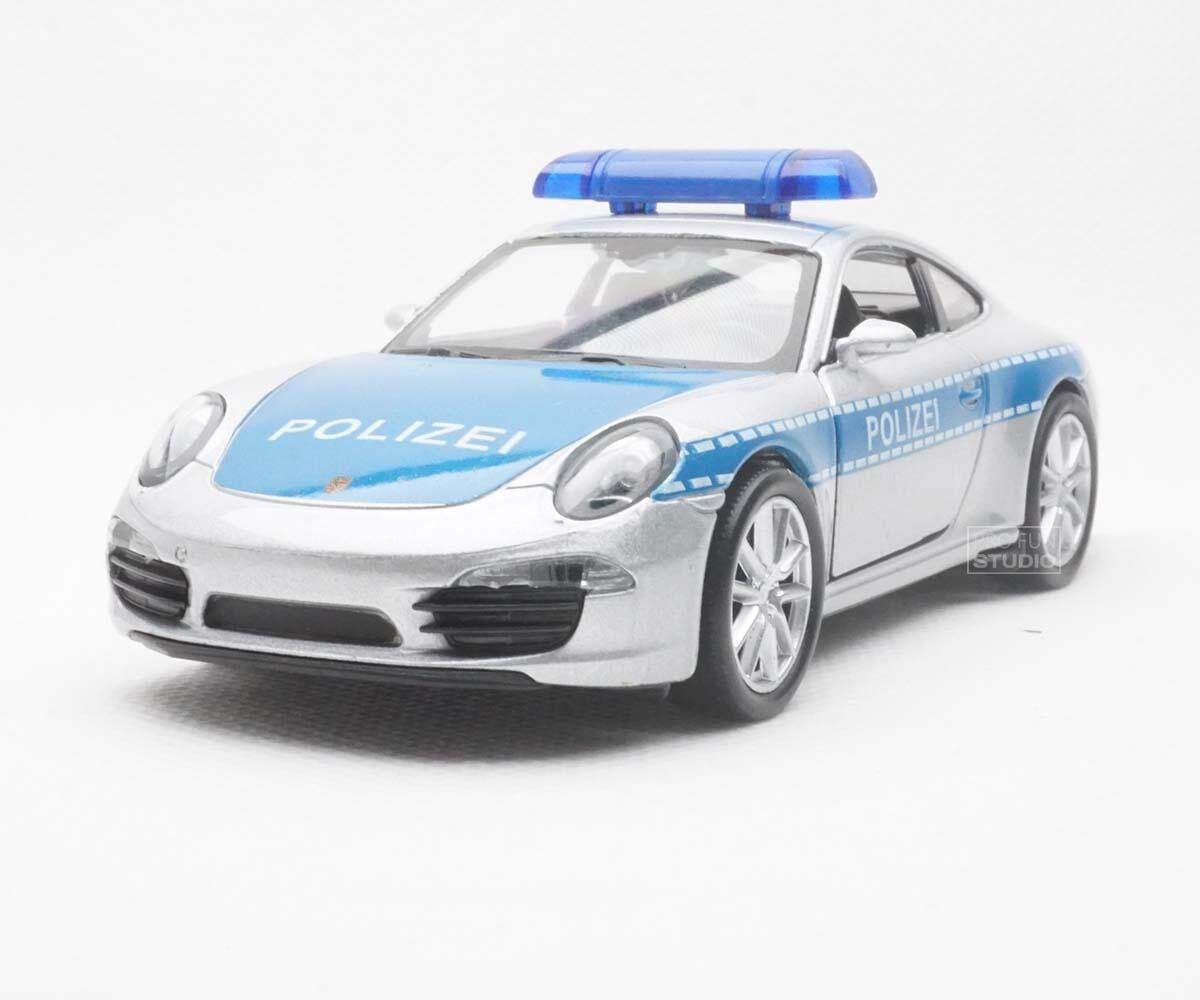Welly Porsche 911 Austrian Police Car 1/36 1/32 1/34 Diescat Car model