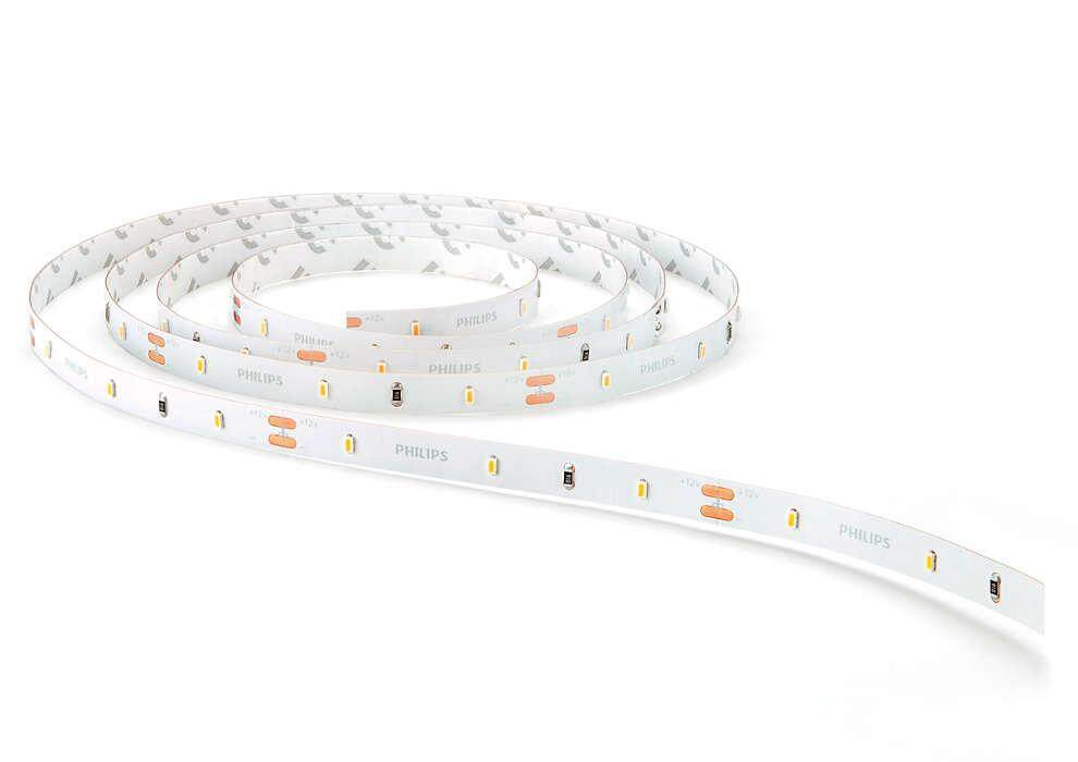 PHILIPS 31059 DLI LED tape 3000K 18W 5m White (w/Driver)