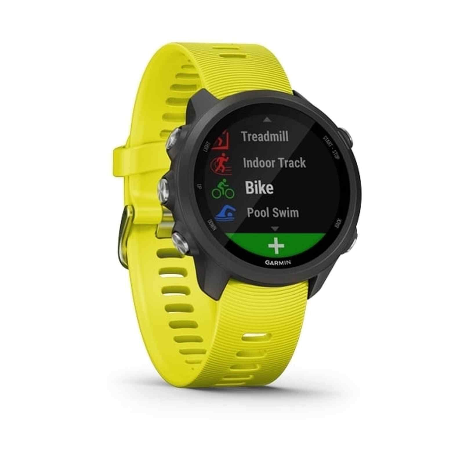สุรินทร์ Garmin Forerunner 245 GPS Running Smartwatch - [Yellow]