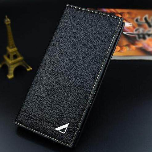 Men Wallet Purse Long Wallet Big Capacity Business Leather Premium Quality