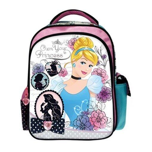 Dinsey Princess Pre School Bag - Blue And Pink Colour