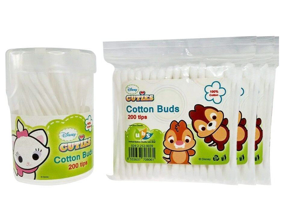 DIsney Cuties 4 in 1 Slim Cotton Buds 800tips