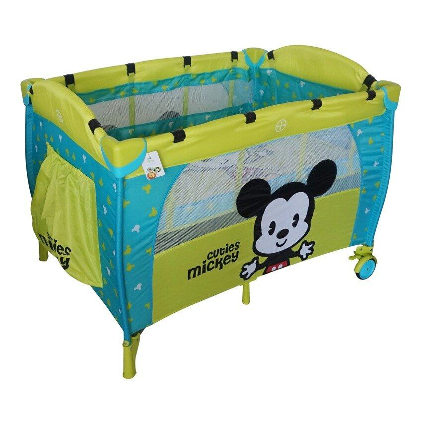 Disney Cuties Baby Playpen - Yellow Colour