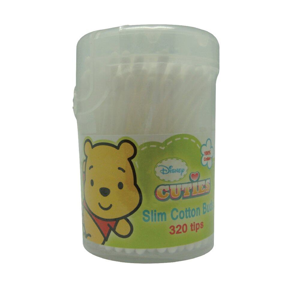 DIsney Cuties Baby Slim Cotton Buds 320 tips