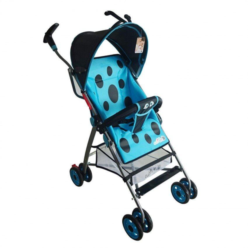 Disney Cuties Beetle Baby Buggy - Blue Colour