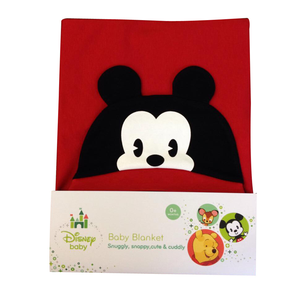 Disney Cuties Hooded Blanket - Mickey