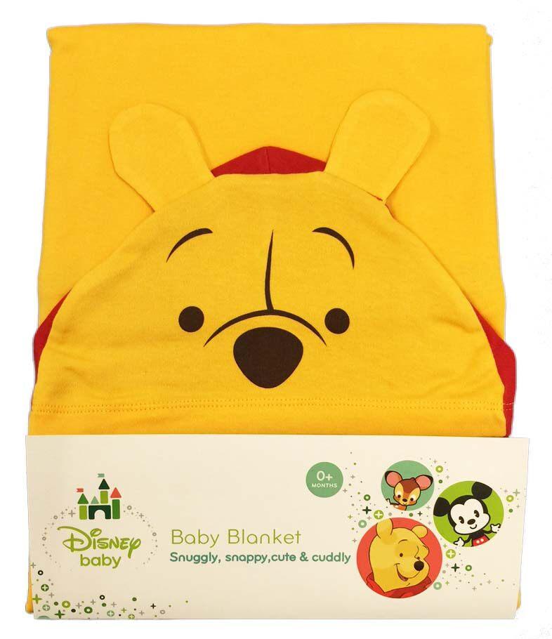 Disney Cuties Hooded Blanket - Winnie The Pooh