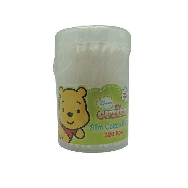 Disney Cuties Slim Cotton Buds 320 Tips - Winnie The Pooh