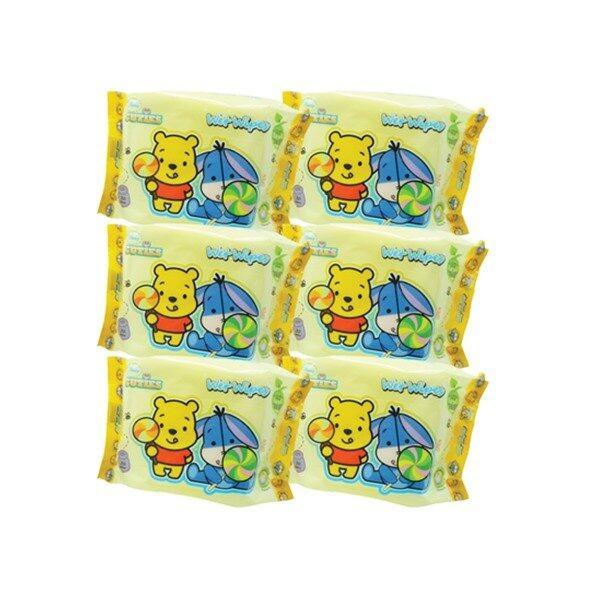 Disney Cuties Wet Wipes Value Set 30PCS - Eeyore & Pooh