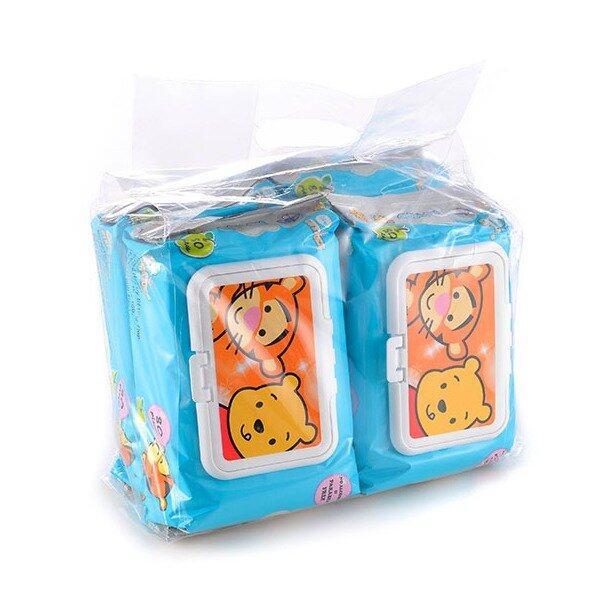 Disney Cuties Wet Wipes Value Set 80PCS - Tigger & Pooh