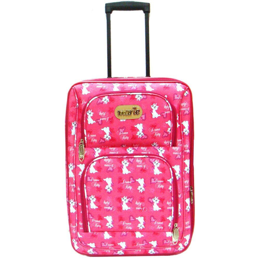 Disney Marie 24 inch Suitcase Trolley (Pink)