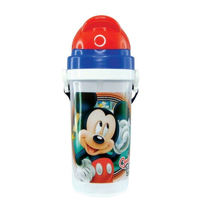 Disney Mickey 500ML Water Bottle - Blue Colour