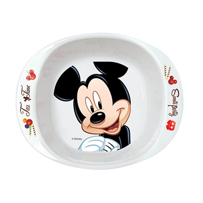 Disney Mickey 6 Inches Handle Bowl - White Colour