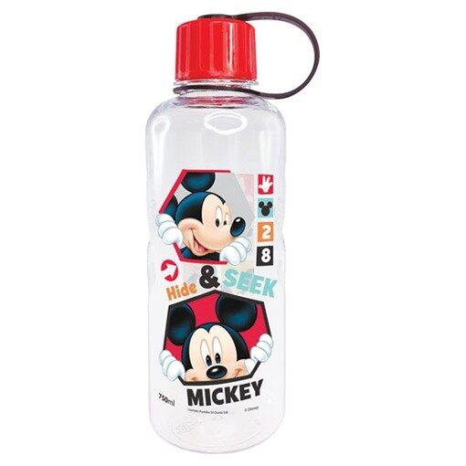 Disney Mickey 750ML Polycarbonate Bottle - Red Colour