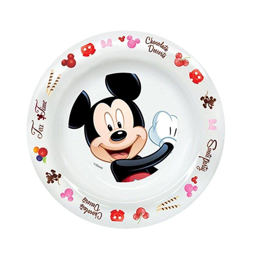 Disney Mickey 8 Inches Soup Plate - White Colour