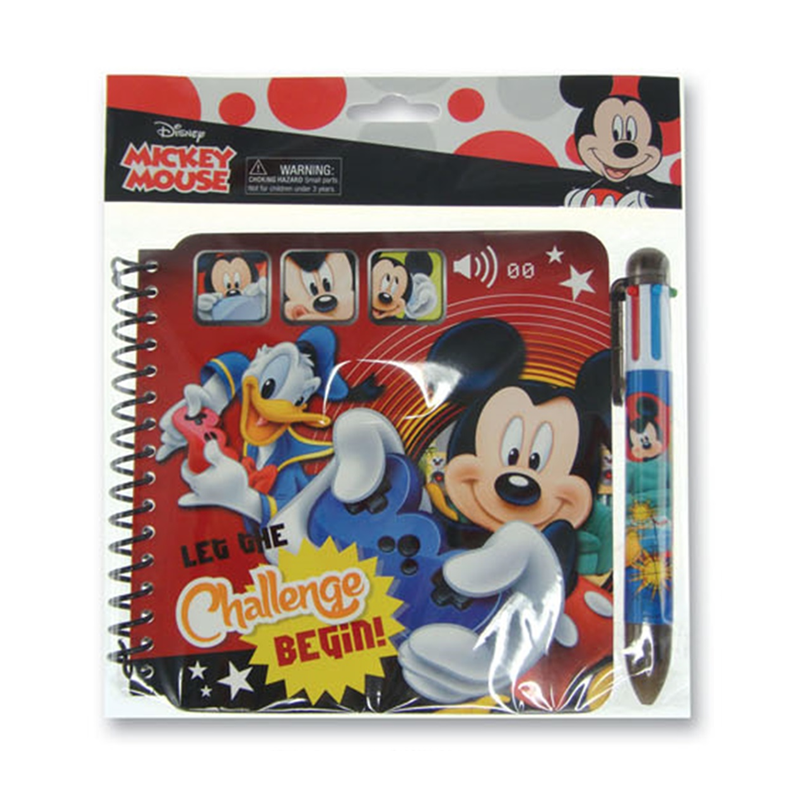 Disney Mickey Notebook Set - Red Colour