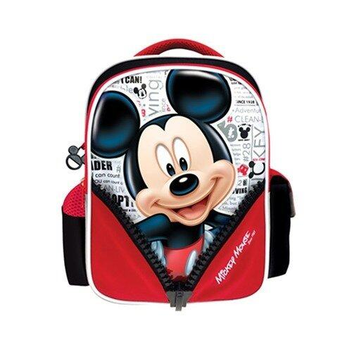 Disney Mickey Pre School Bag - Red And Black Colour