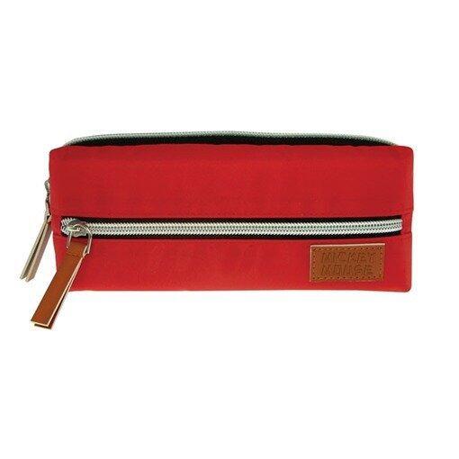 Disney Mickey Square Pencil Bag - Red Colour