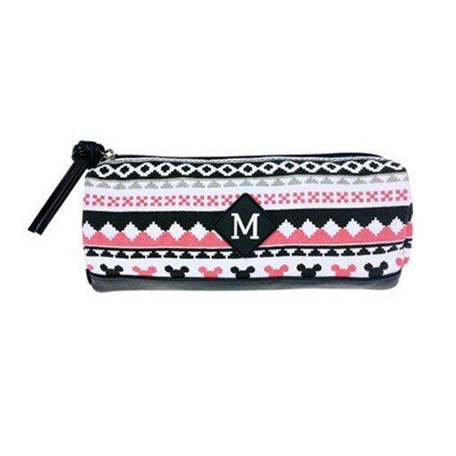 Disney Mickey Square Pencil Bag - White Colour