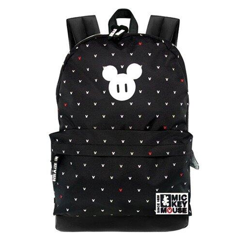 Disney Mickey Teenager Backpack - Black Colour