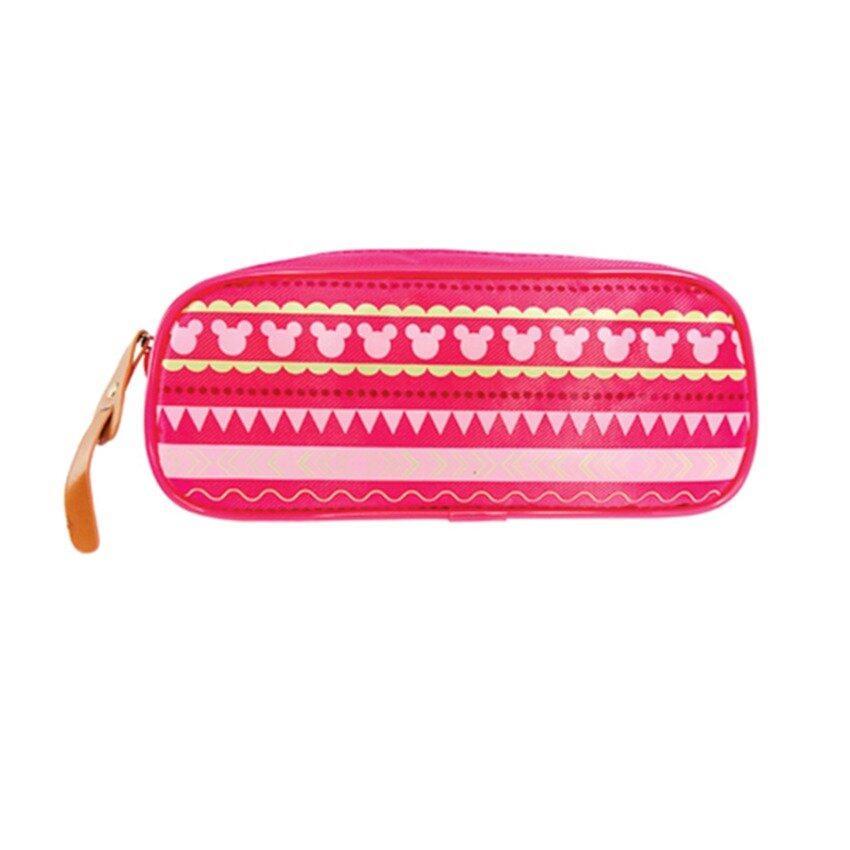 Disney Minnie Adult Oval Pencil Bag - Pink Colour