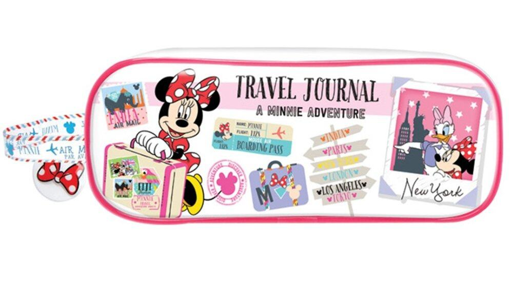 Disney Minnie Girl's Square Pencil Bag Set