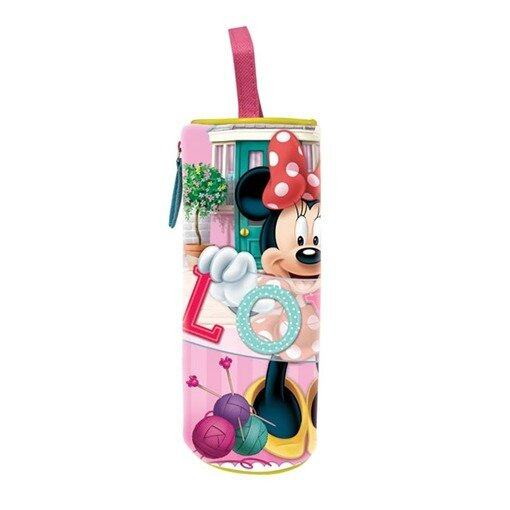 Disney Minnie Round Pencil Bag - Pink Colour