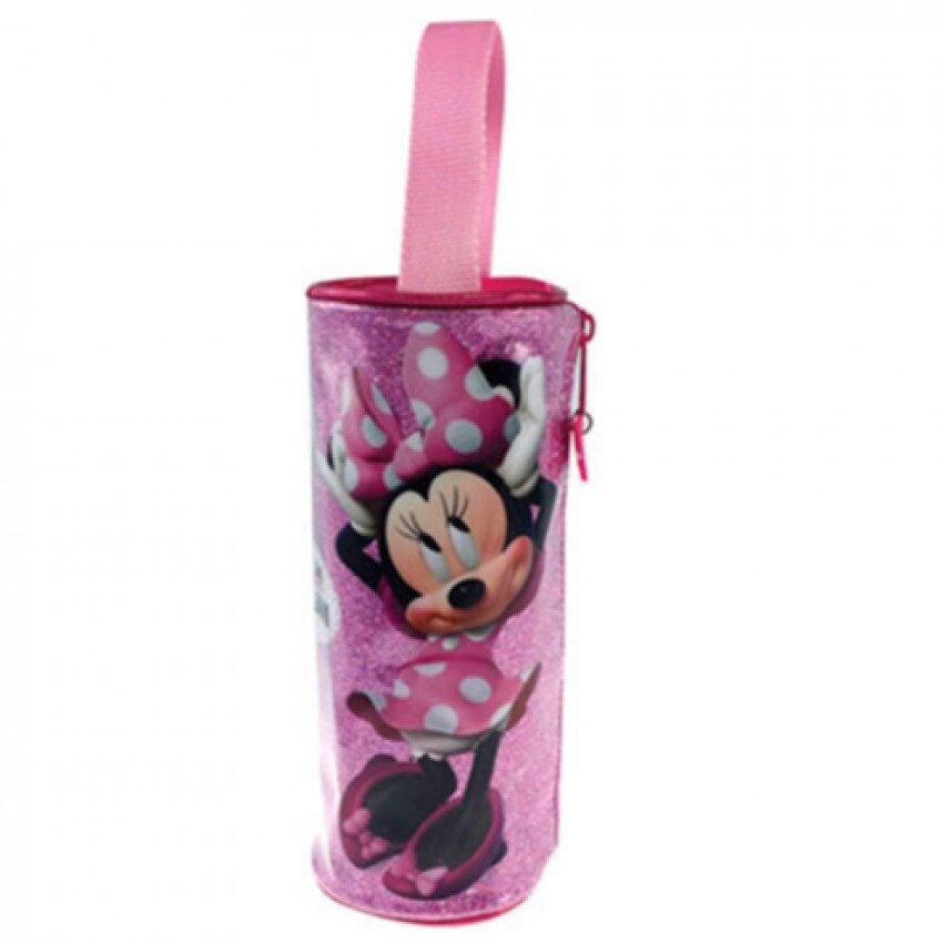 Disney Minnie Round Pencil Bag - Pink Colour