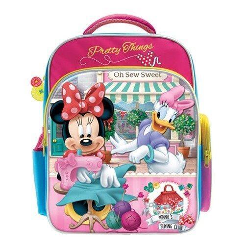 Disney Minnie School Bag - Pink Colour