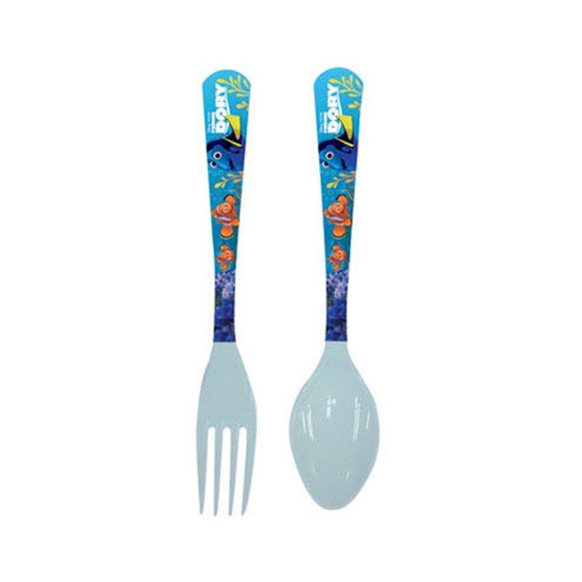 Disney Pixar Finding Dory Fork & Spoon Set - Blue Colour