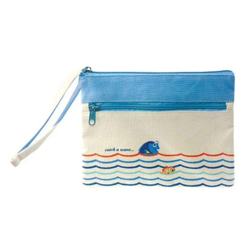Disney Pixar Finding Dory Hand Pouch - Blue And White Colour
