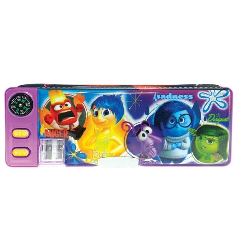 Disney Pixar Inside Out Magnetic Pencil Case - Purple