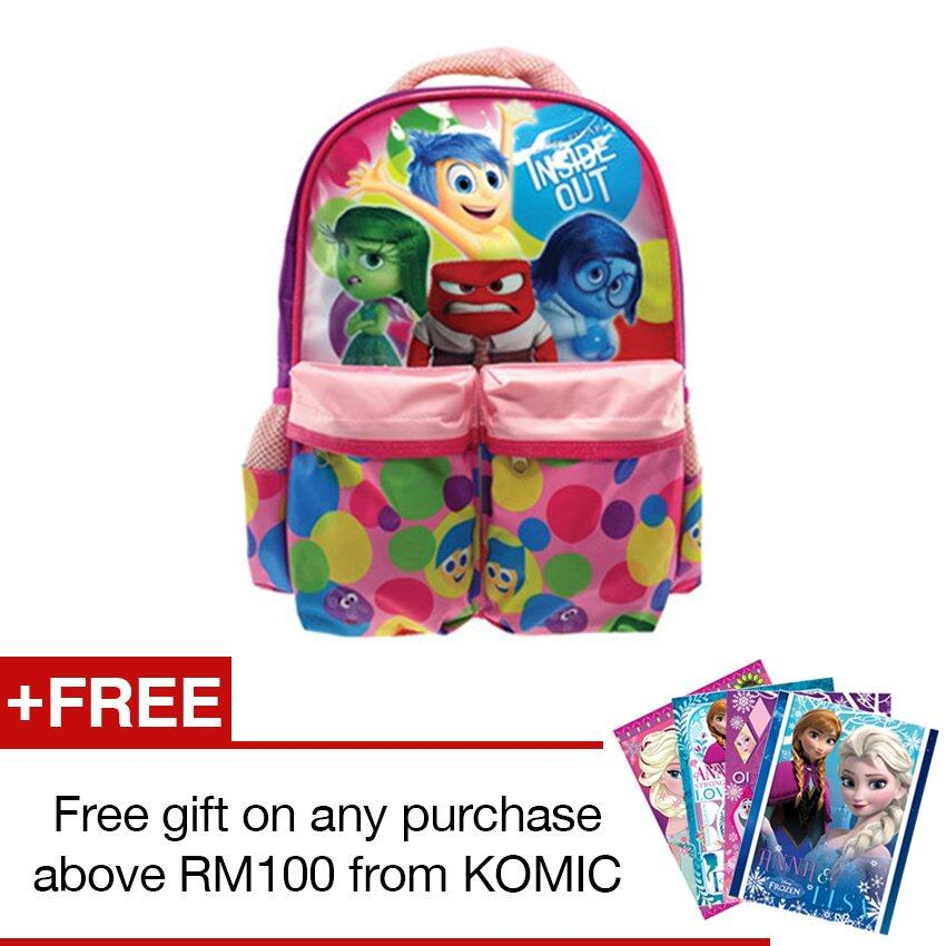Disney Pixar Inside Out Pre School Bag - Pink