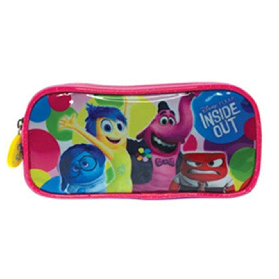 Disney Pixar Inside Out Square Pencil Bag - Pink