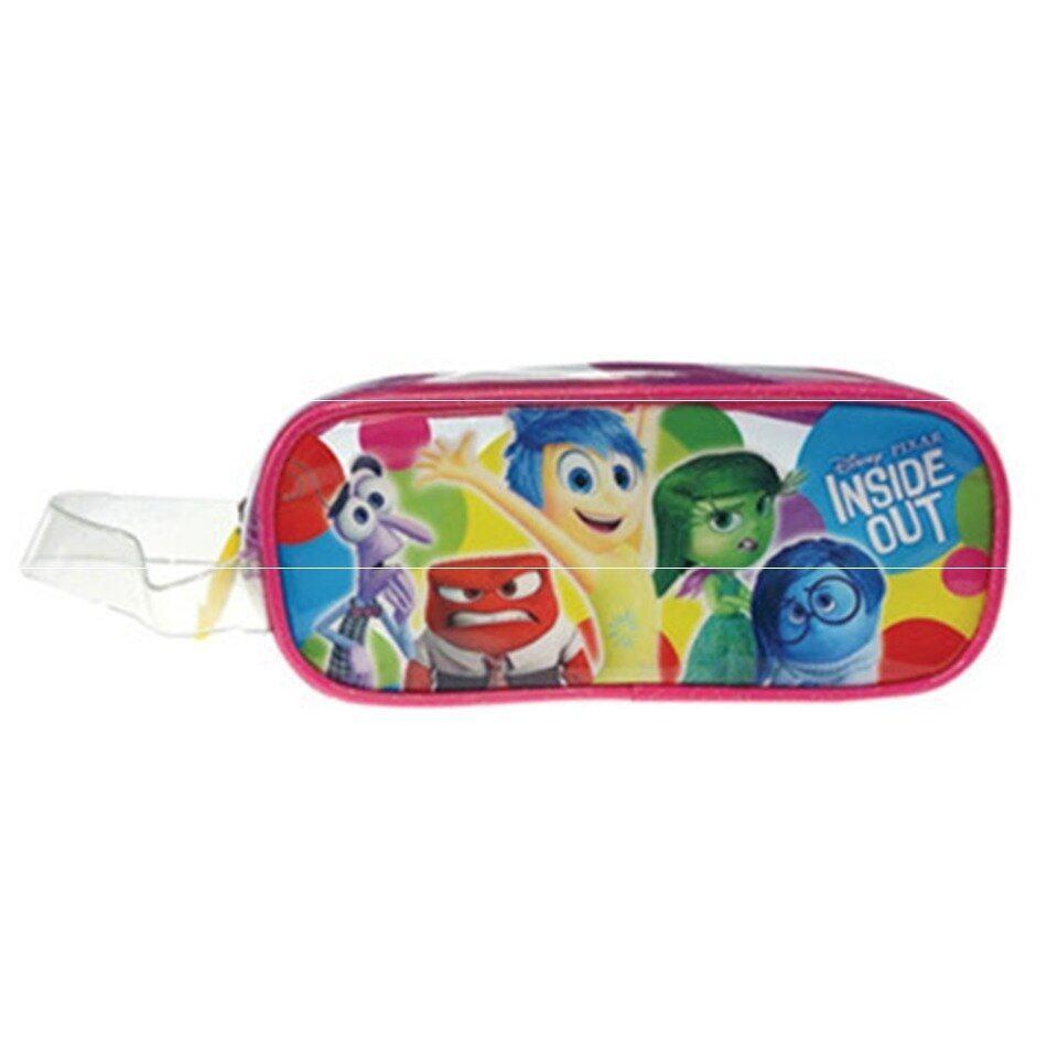 Disney Pixar Inside Out Square Pencil Bag Set - Pink