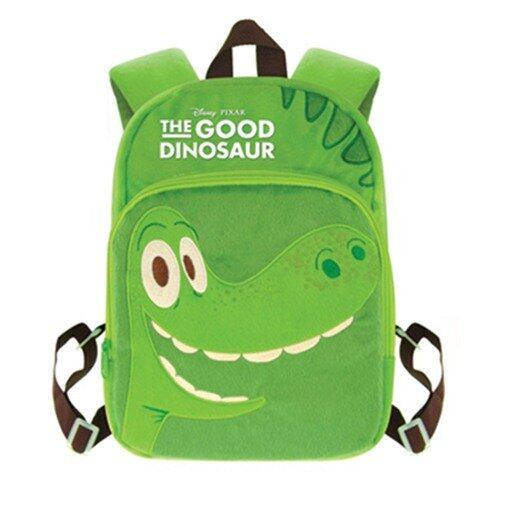Disney Pixar The Good Dinosaur Plush Backpack 12 Inches - Green Colour
