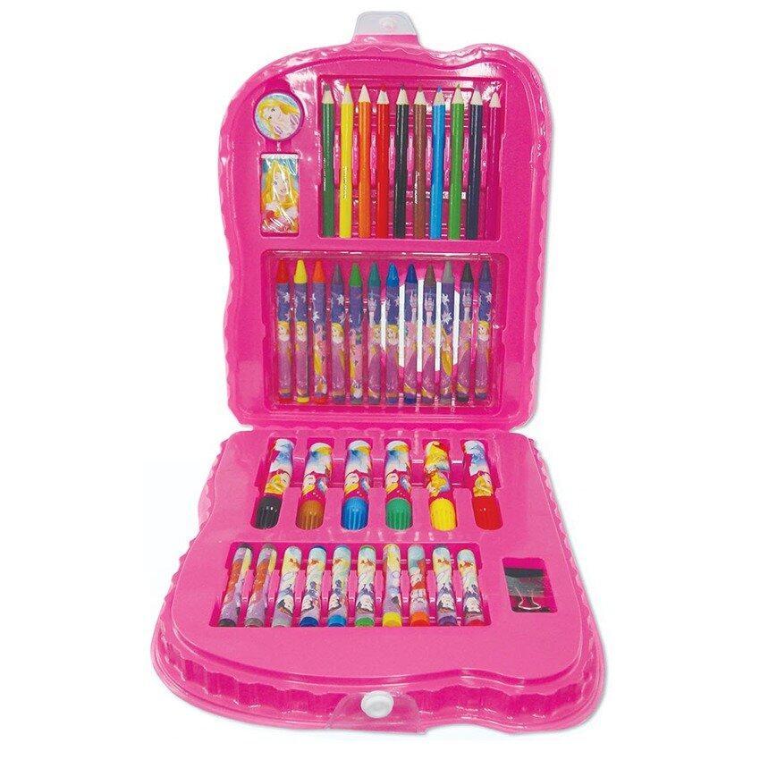 Disney Princess 42pcs Art Set - Pink Colour