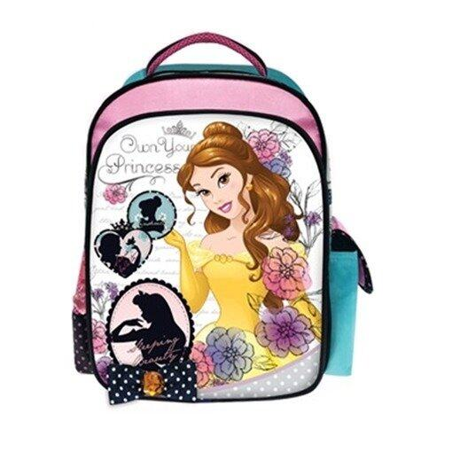"""Disney Princess Backpack 12"""" - Yellow And Pink Colour"""
