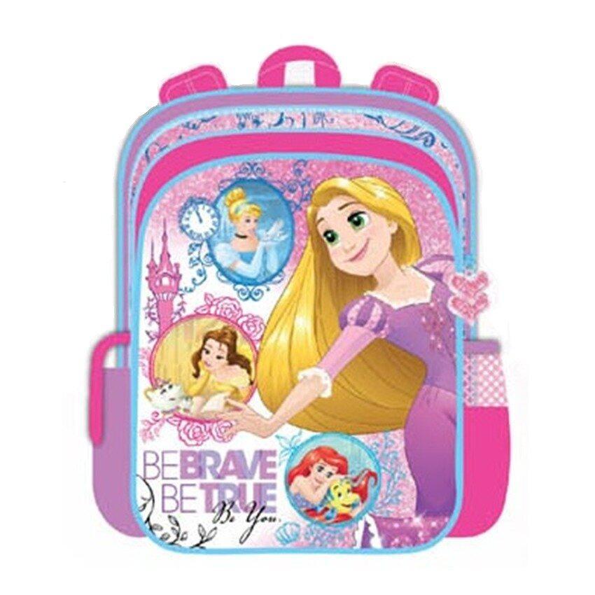 Disney Princess Backpack School Bag - Pink Colour