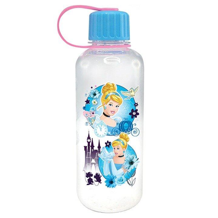 Disney Princess Cinderella 750ML Polycarbonate Bottle - Blue Colour