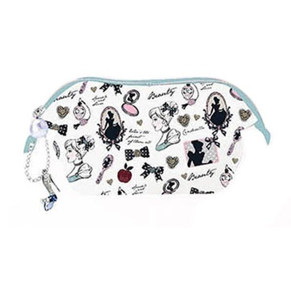Disney Princess Cinderella Adult Cosmetic Pouch With Hook - Light Blue Colour